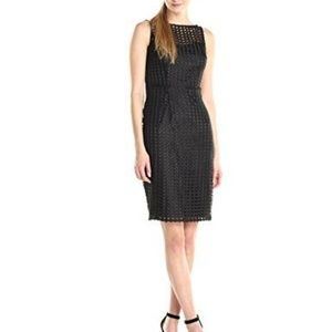 Adrianna Papell Dresses - NWT Adrianna Papell Grid Lace Cocktail Dress